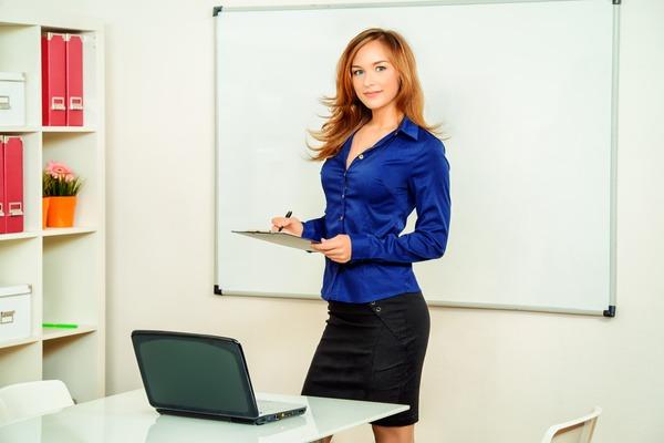 BTC sexy office girl