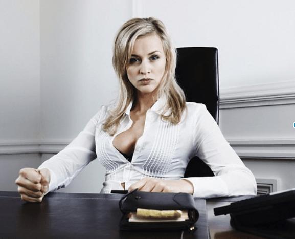 crypto news sexy business woman  Corbis