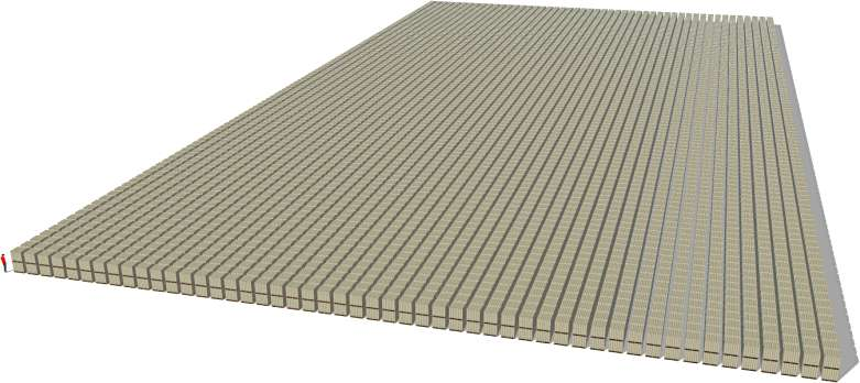 Visualization - What would all Bitcoins look like on one pile - What about gold?