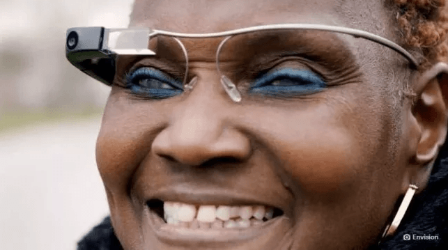 Google is involved in the development of spectacles that help blind people see