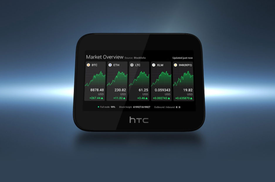 HTC presents a 5G blockchain router with focus on cryptocurrency and privacy
