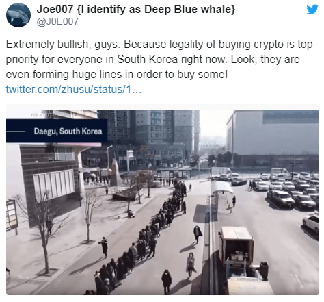 Megawhale Joe007 is still skeptical about the bull trend