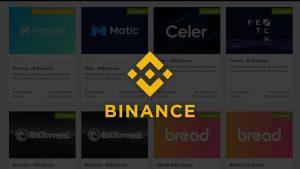 IEO on binance launchpad