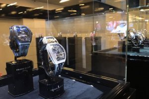 The King: the Bitcoin watch by Franck Muller