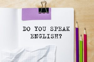 Knowledge of English for doing business around the world
