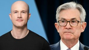 Brian Armstrong met with Fed Chairman Jerome Powell to discuss the role of the US in the cryptocurrency sector and the CBDC