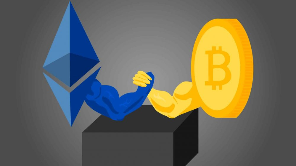 ETH vs. BTC – who is the leader in investment products?