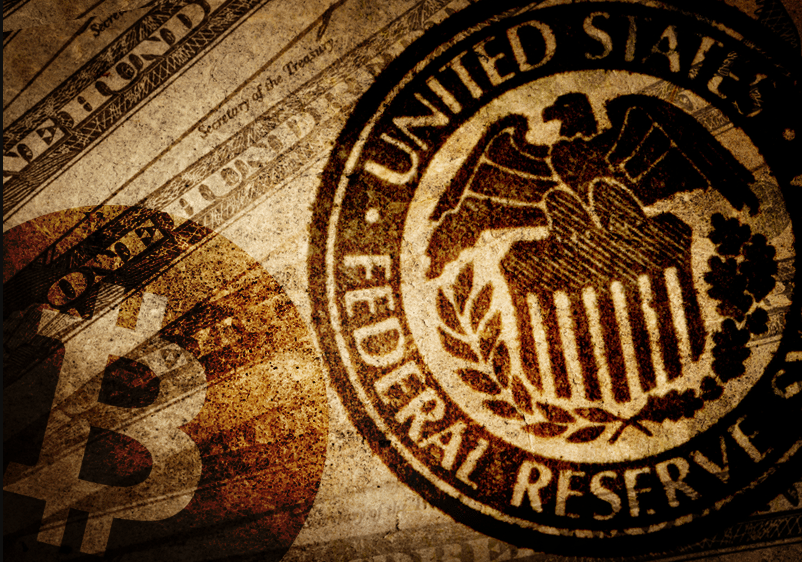 Relationship between BTC and the Federal Reserve System (FED)