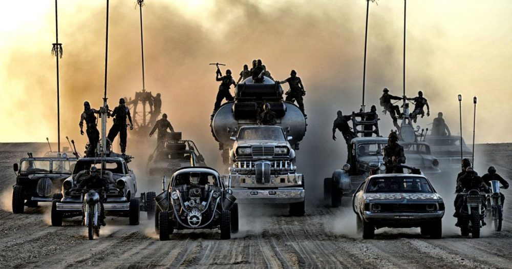 The cars from Mad Max are being auctioned for BTC, they will deliver to home