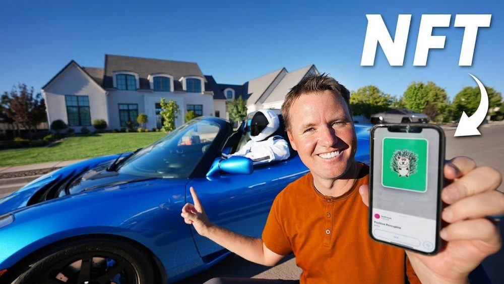 YouTuber exchanged the Tesla Roadster for the NFT