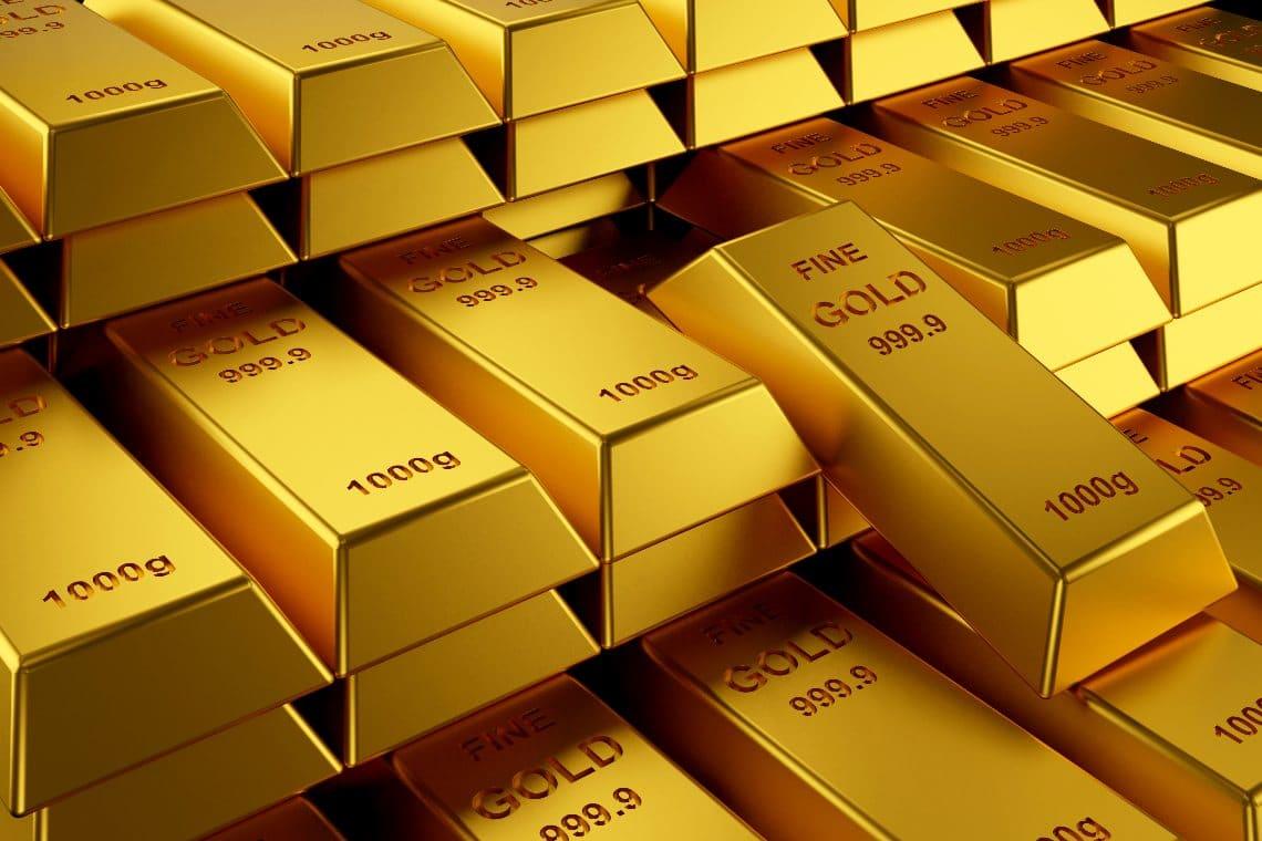 Central banks buy gold in bulk