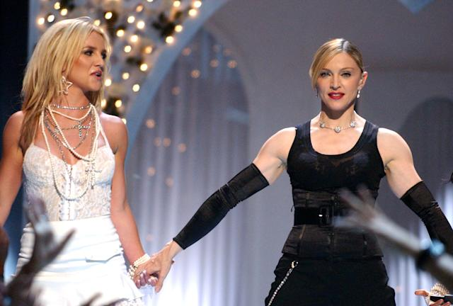 The famous kiss of Madonna and Britney for sale as NFT